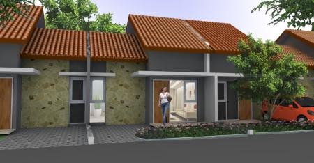 gambar rumah 3d tipe 36