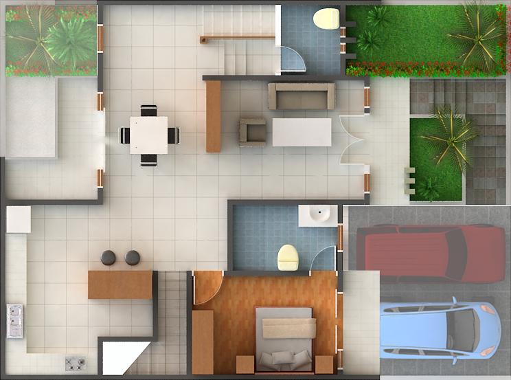 jual rumah sukaraja village rumah minimalis type 45