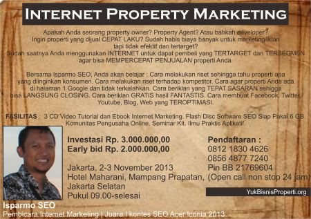 seminar seo in property